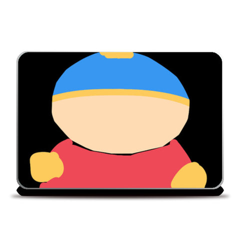 Eric Cartman South Park Minimal Sketch Doodle Artwork (Childhood/Cartoon) Laptop Skins | Artist : Looks Good = Feels Good
