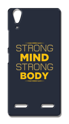 Strong Mind Strong Body Lenovo A6000 Cases | Artist : Designerchennai