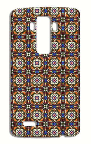 Tribal Moroccan Mosaic Tile Pattern LG G4 Cases | Artist : Seema Hooda