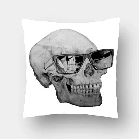 Cushion Covers, Cool Skull Cushion Cover | Shashank Sharma, - PosterGully