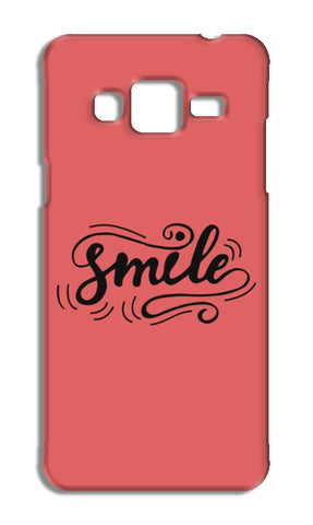 Smile Samsung Galaxy J3 2016 Cases | Artist : Inderpreet Singh