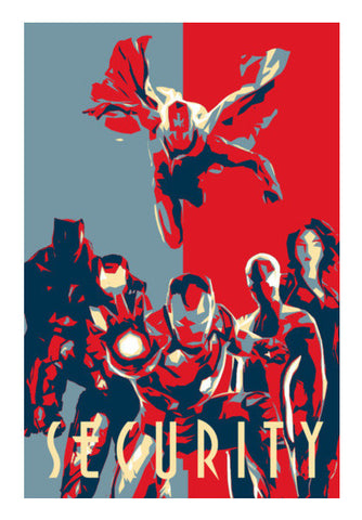 Team Iron Man Art PosterGully Specials