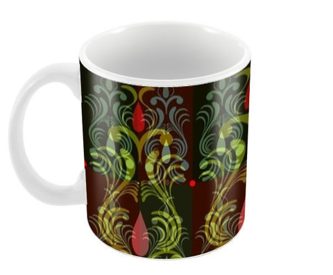 Ornamental Pattern Coffee Mugs | Artist : Amar Singha