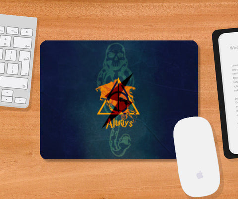 Always | Harry Potter Mousepad | Artist : Ved Uttam