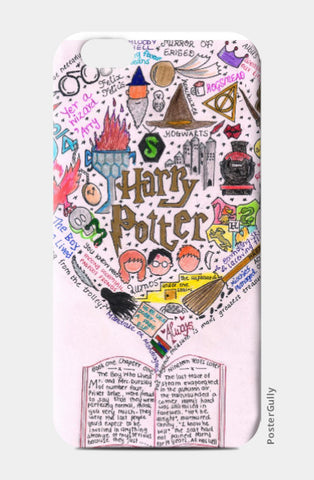 iPhone 6 Cases, Harry Potter Doodle iphone 6 Case | Artist: Keya Shah, - PosterGully