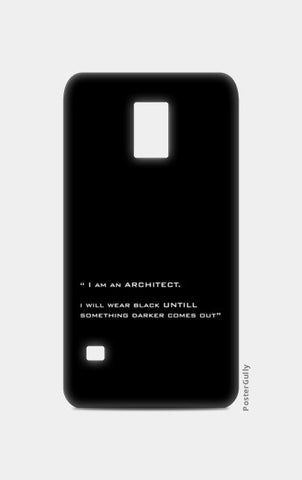 Samsung S5 Cases, ARCHITECT-BLACK Samsung S5 Cases | Artist : Sonia Punyani, - PosterGully