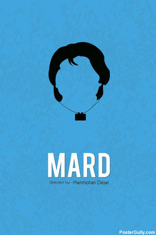 Wall Art, Mard Artwork | Artist: Rohit Kumar, - PosterGully - 1
