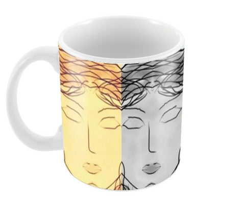 Different colour for different mood Coffee Mugs | Artist : Trusha Navalkar