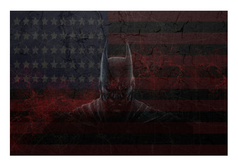 Batman Dark Knight Wall Art  | Artist : Tiny Dots