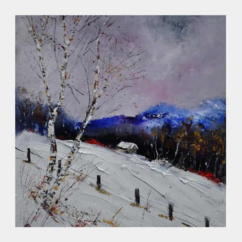 winter 562121 Square Art Prints | Artist : pol ledent