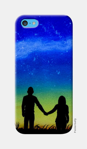 Sunset Love Painting iPhone 5c Cases | Artist : Rahul Tanwar