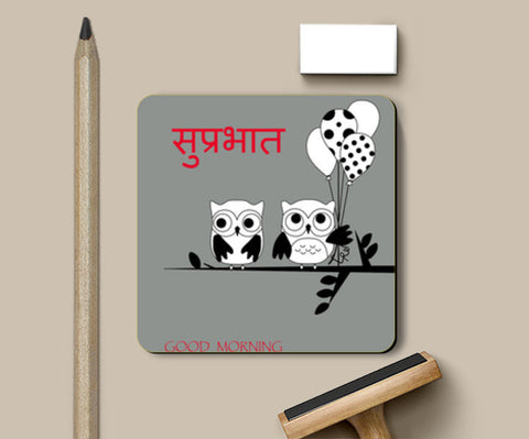 Coasters, good morning Coasters | Artist : Krushn Khasiya, - PosterGully