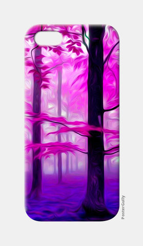 Pink Nature iPhone 5 Cases | Artist : Rameshwar Chawla