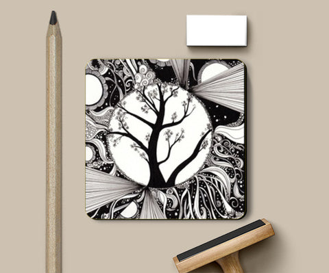 Coasters, Tree of life Coasters | Artist : Madhurima Biswas, - PosterGully