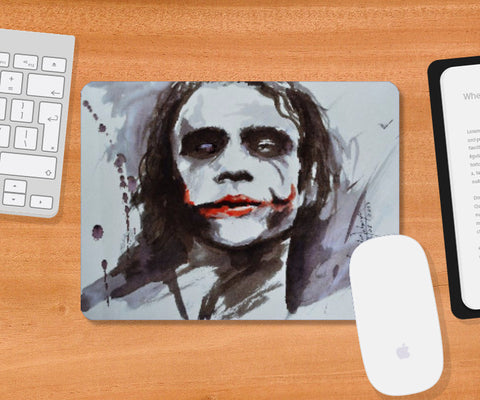 Mousepad, The Joker Mousepad | Artist: Prajwal Acharya, - PosterGully