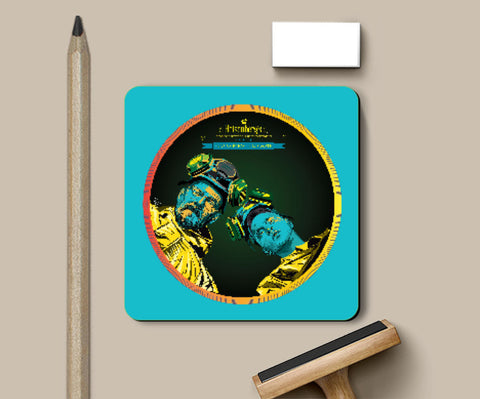 Coasters, Heisenberg Breaking Bad Coaster | Pratik Kamat, - PosterGully