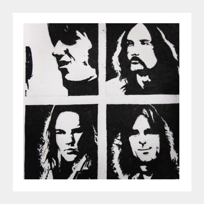 Pink Floyd Square Art Prints Postergully Specials