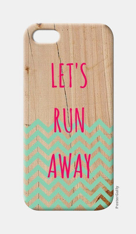 iPhone 5 Cases, Let's Run Away iPhone 5 Case | Artist : Vidushi Jain, - PosterGully
