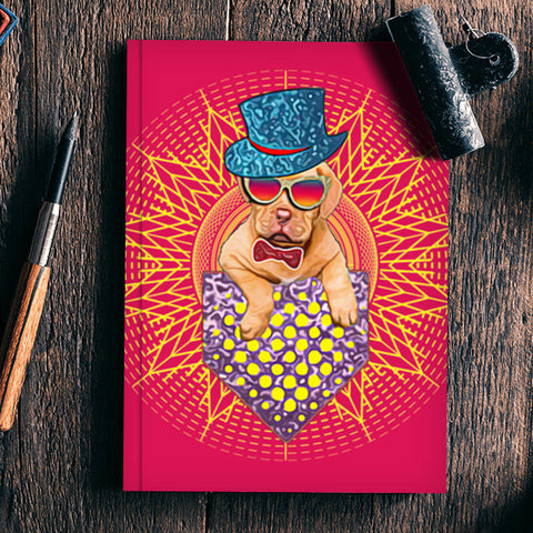 Cool Dog Design Notebook | Artist : Design_Dazzlers