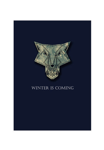 winter is coming Wall Art | Artist : Nazria Banu