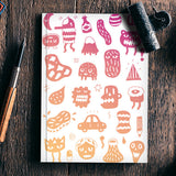 Crazy Monsters Notebook | Artist : Aditya Golechha