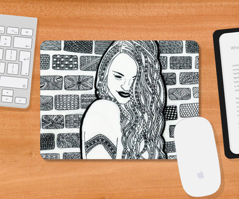 Mousepad, Happy Mousepad | Artist : Navya Rao, - PosterGully