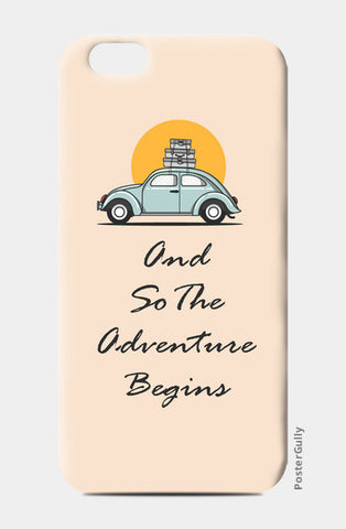 Road trip iPhone 6/6S Cases | Artist : Arpita Gogoi
