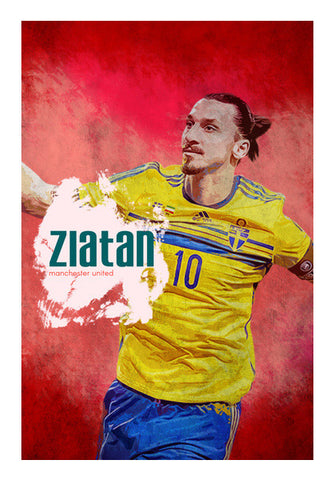 The Zlatan Wall Art | Artist : Alok Sharma