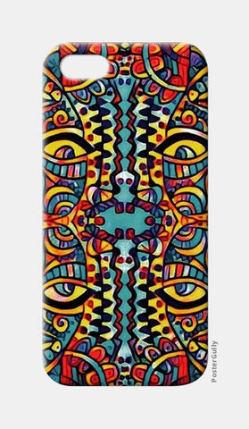 many faced iPhone 5 Cases | Artist : Himani Chhabra