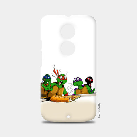 Moto X2 Cases, Ninja Turtles - Pizzaaa!! Moto X2 Cases | Artist : Paul D' Rozario, - PosterGully