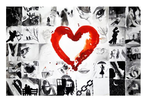 PosterGully Specials, shade of love Wall Art | Artist : Sudhir Kumar | PosterGully Specials, - PosterGully