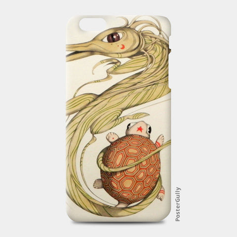 dragon with turtle iPhone 6 Plus/6S Plus Cases | Artist : federico cortese