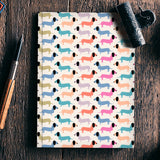 Dog seamless pattern Notebook | Artist : Designerchennai
