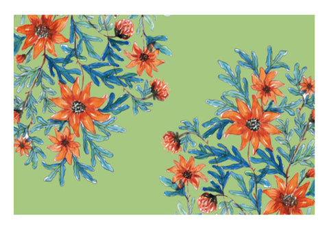 Beautiful Blooming Flowers Spring Decor Art PosterGully Specials