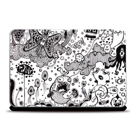 Laptop Skins, Beautiful let down Laptop Skins | Artist : Madhurima Biswas, - PosterGully