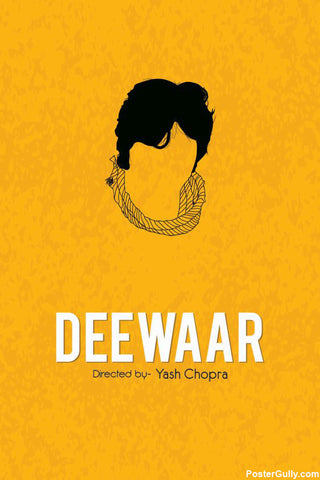 Brand New Designs, Deewaar Artwork | Artist: Rohit Kumar, - PosterGully - 1