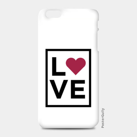 Love iPhone 6 Plus/6S Plus Cases | Artist : Abhishek Bhardwaj