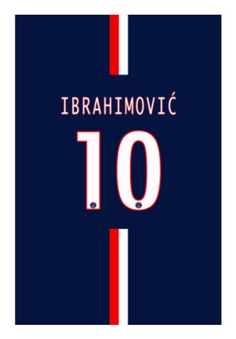 Wall Art, Zlatan Ibrahimović iPhone 5 Case | Artist: GS, - PosterGully