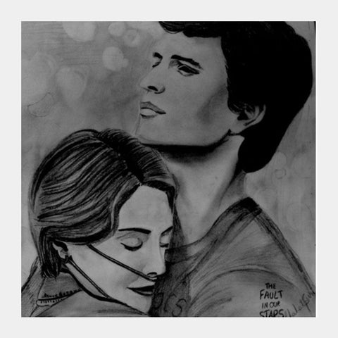 Square Art Prints, The Fault in Our Stars Square Art | Chahat Suri, - PosterGully