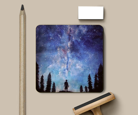 Coasters, A quiet darkness Coasters | Artist : Sukanya Chakraborty, - PosterGully