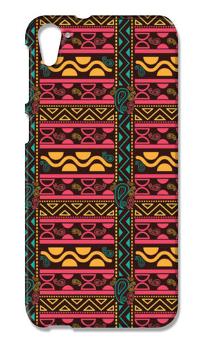 Abstract geometric pattern african style HTC Desire 826 Cases | Artist : Designerchennai