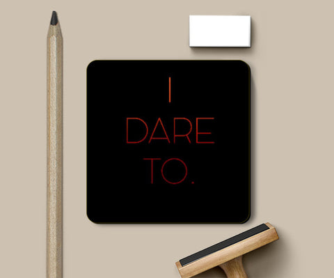 Coasters, I Dare To Coaster | Artist: Sukhmani Kaur, - PosterGully