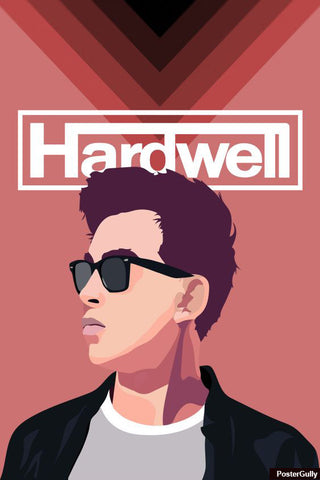 Wall Art, Hardwell Artwork | Artist: Siladityaa Sharma, - PosterGully