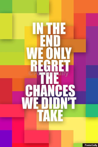 Wall Art, Regret The Chances Artwork | Artist: Amit Kumar, - PosterGully - 1