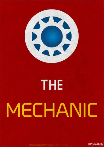 Brand New Designs, The Mechanic Artwork | Artist: Kumaraditya Dash, - PosterGully - 1