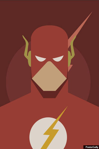 Wall Art, Flash Minimal Artwork | Artist: Amit Kumar, - PosterGully - 1