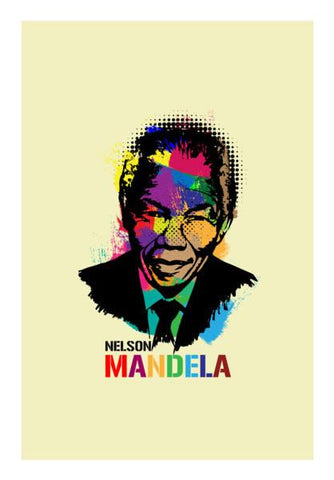 PosterGully Specials, Nelson Mandela Wall Art | Artist : Designerchennai, - PosterGully