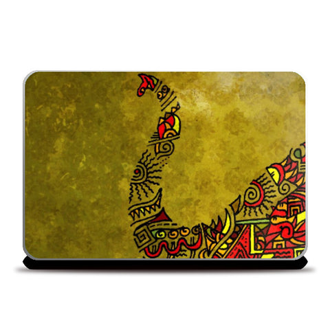 Laptop Skins, Elephant Zenscrawl | Meghnanimous, - PosterGully