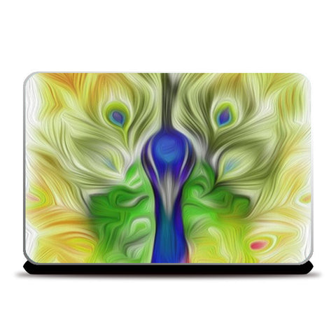 Laptop Skins, The colours in me PEACOCK Laptop Skin | Vidhisha Kedia, - PosterGully