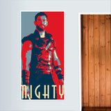 Thor: Mighty Door Poster | Artist : LinearMan